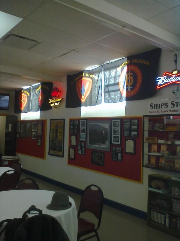 Marine Corps League | Hal Holmes Marine Room